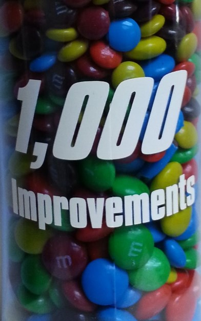1,000 Continuous Improvements