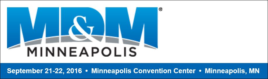 Come see us at the MD&M Minneapolis show