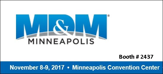 Come see us at MD&M Minneapolis